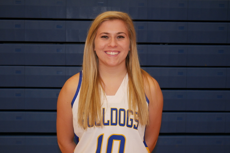 Todd and Larsen lead Lady Bulldogs to easy league win against Bloomingdale