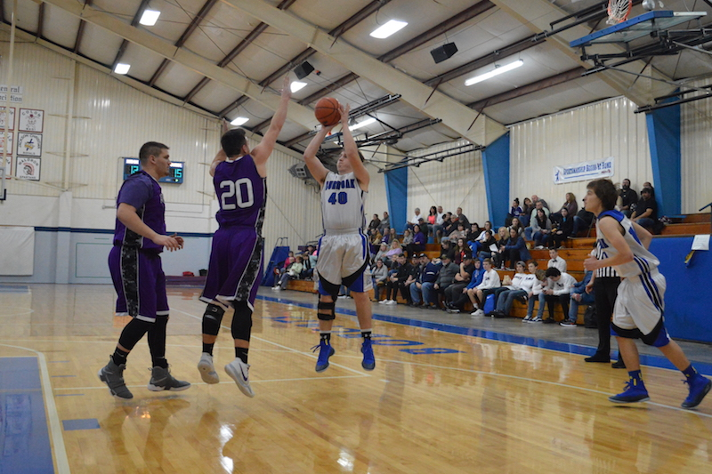 Gallery: Athens cruises to boys basketball victory at Burr Oak