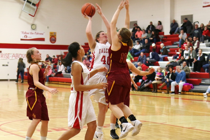 Gallery: Lady Falcons pick up SAC win over Galesburg-Augusta