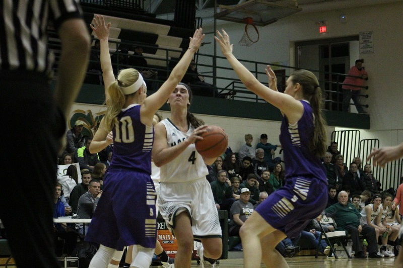 Schoolcraft girls to 8-0 with victory at Hackett