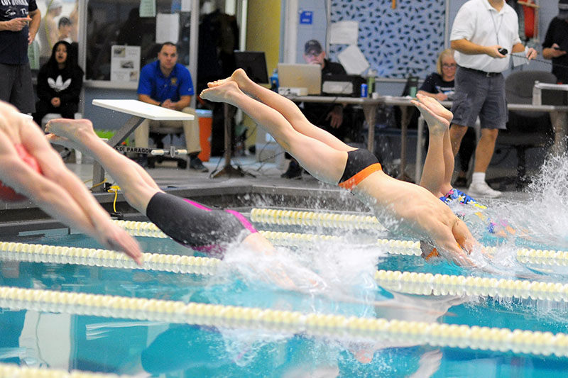 Knights swimmers third, Portage Northern fifth at Loy Norrix Invite, Sturgis 12th at Hudsonville