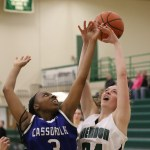 Gibson boosts Cassopolis in girls basketball win against Mendon