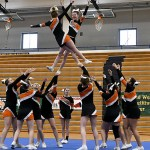 Sturgis competitive cheer team rides strong second round to Division 2 district crown
