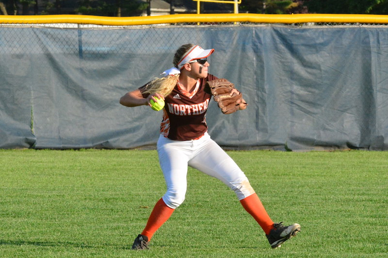 Portage Northern senior Hannah Biddlecome exceeding expectations in final prep softball season