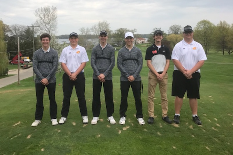 All-Southwest 10 Conference Boys Golf First Team