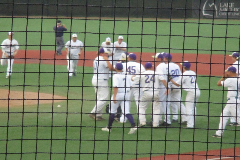 Schoolcraft baseball returns to final four after rolling Montague 10-1