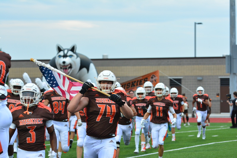 Gallery: Portage Northern football wins big vs. Loy Norrix in first game at the new Huskie Stadium