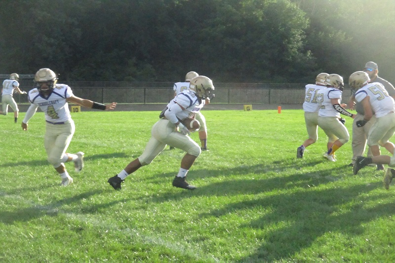 Schoolcraft to 2-0 with 35-14 win at Parchment