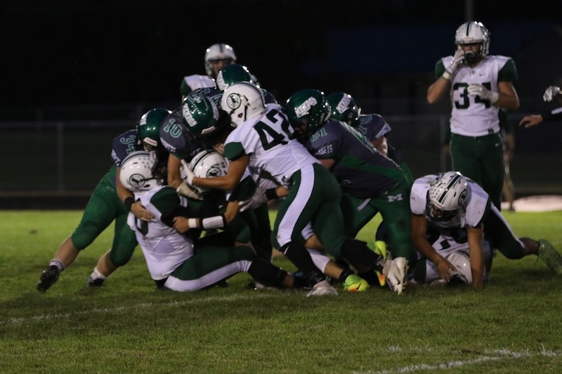 Mendon football vs. Hartford