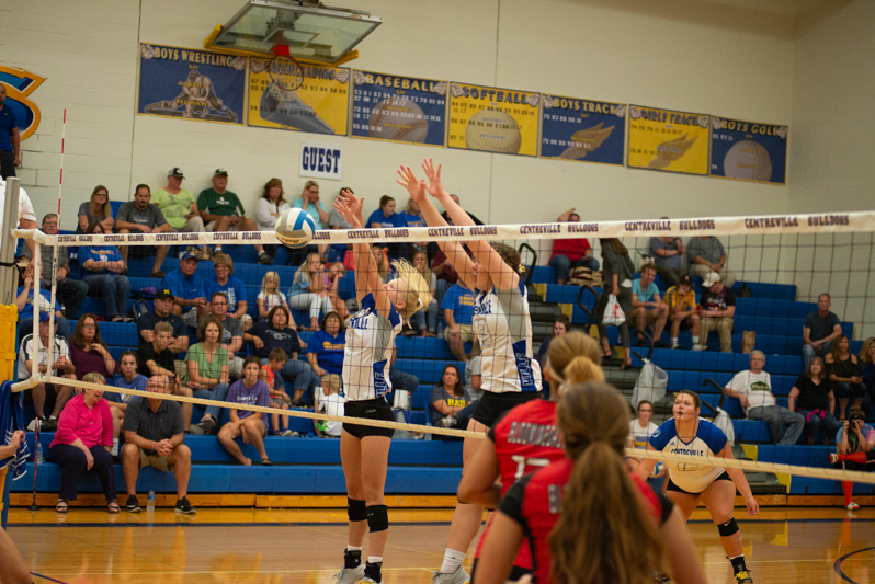 Gallery: Centreville volleyball team cruises against Bloomingdale
