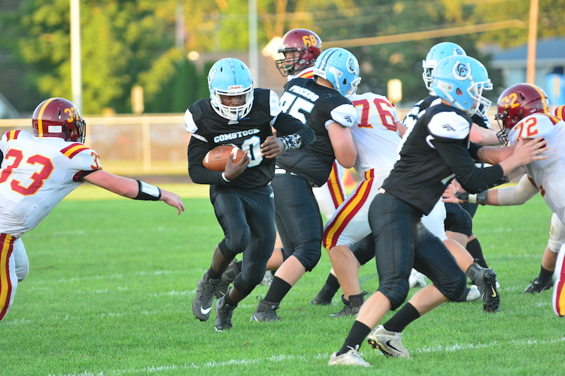 Last second field goal lifts Comstock to first win, 23-21, over Galesburg-Augusta