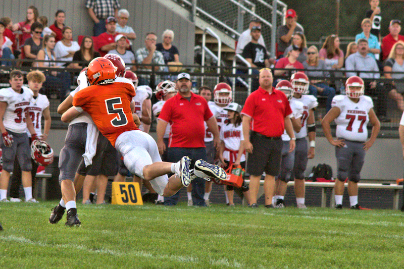 Football Box Score/Gallery/Video: Sturgis vs. Vicksburg