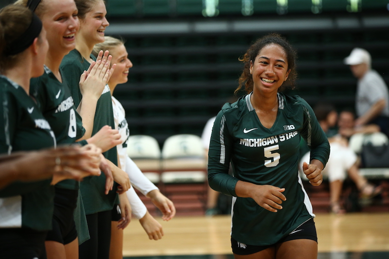 Next Level: Former Kalamazoo Central star Talia Edmonds realizes Division I volleyball dream at Michigan State