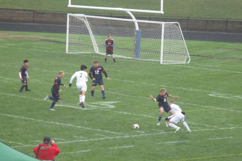 Hackett Catholic soccer earns eighth consecutive district crown