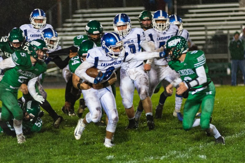 Football Box Score: Cassopolis moves to 8-0 with win at Mendon