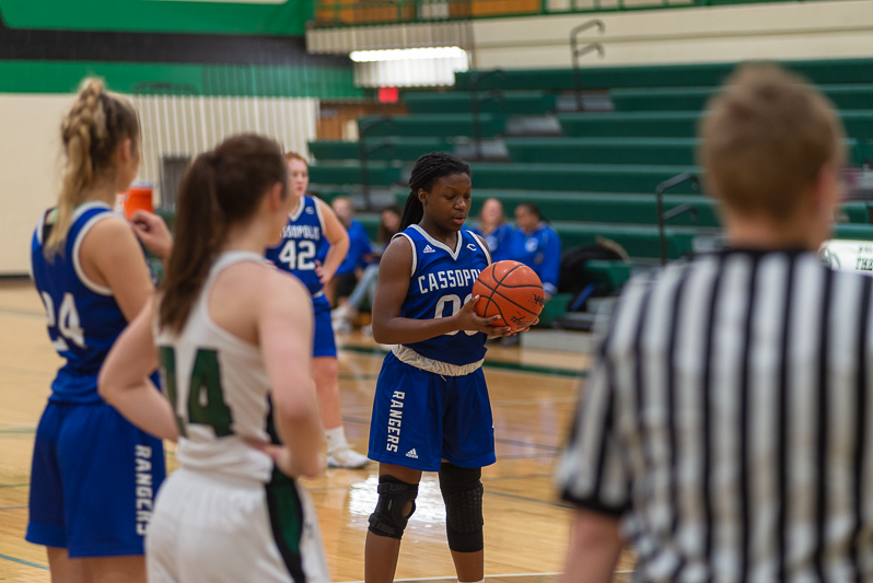 Cassopolis vs Mendon Girls Basketball 1 11 2019-2