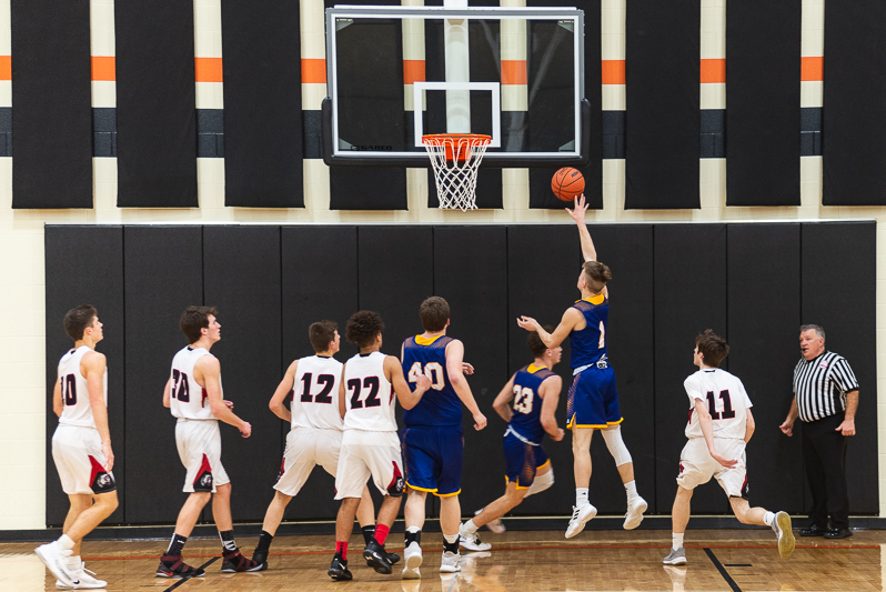 Centreville Vs White Pigeon Districts Mens BB 2 27 19-3