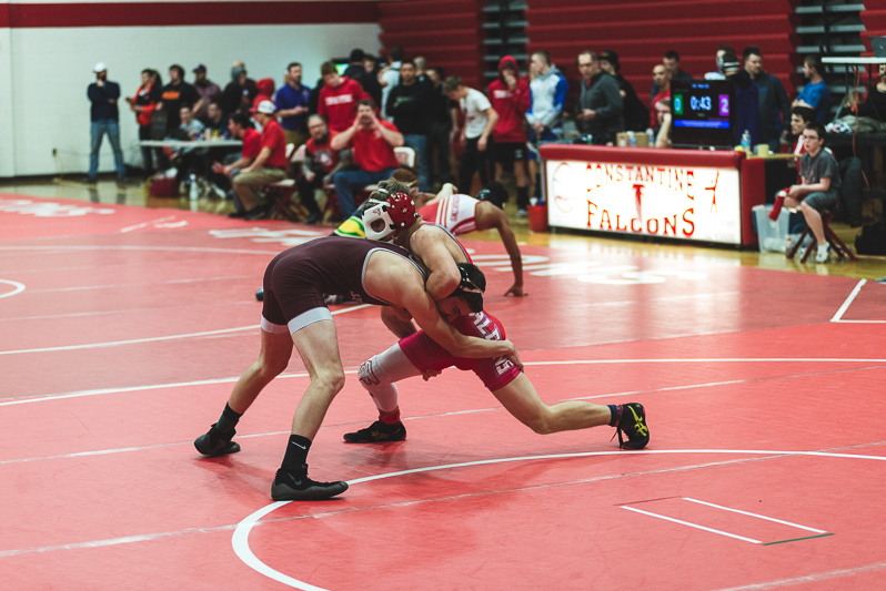 Wrestling Individual Districts-Constantine 2 9 2019-2