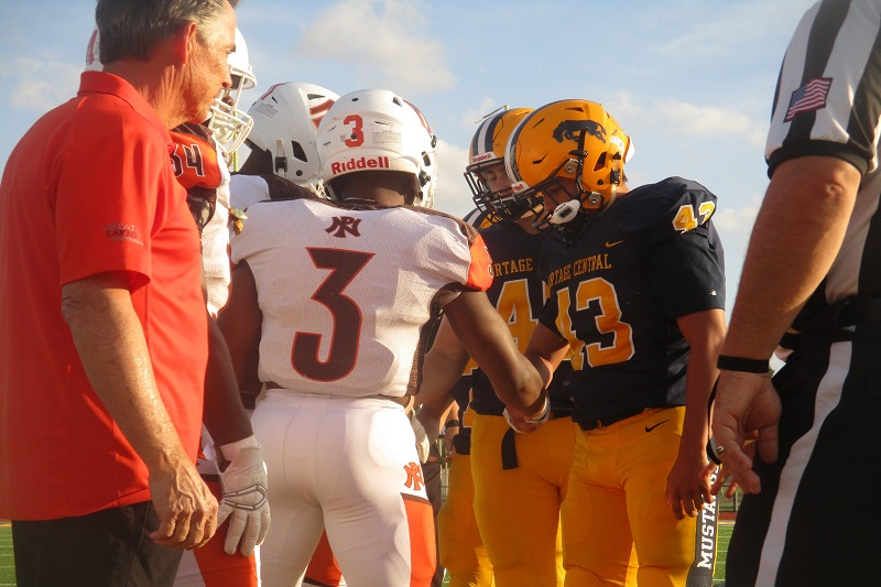 Portage Northern football to 3-0 with 56-26 win at Portage Central