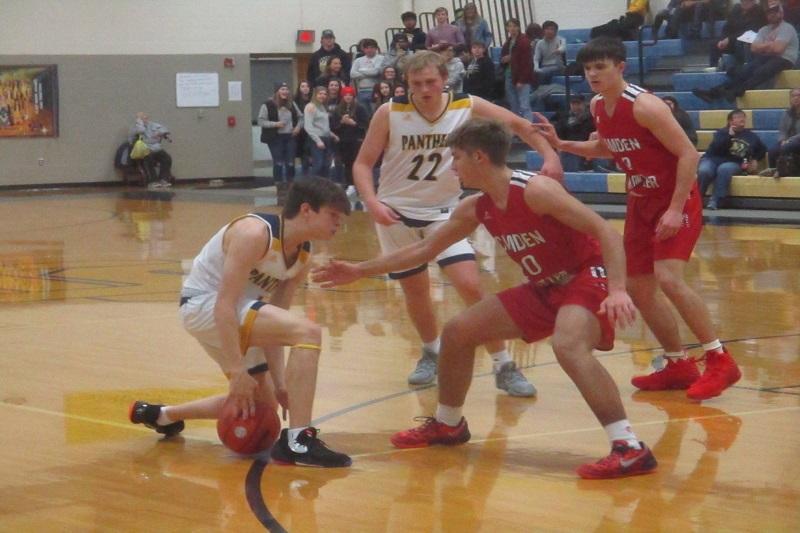 Camden Frontier beats Climax Scotts 66 39 in boys basketball