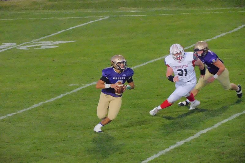 Schoolcraft rolls Constantine 49-14 in football opener