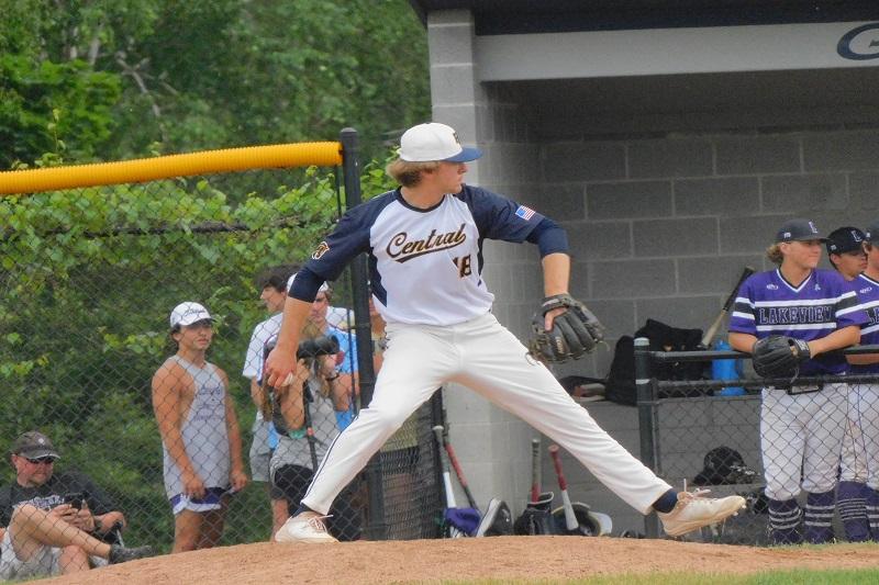 Portage Central baseball beats top-ranked Grand Ledge, advance to state semi