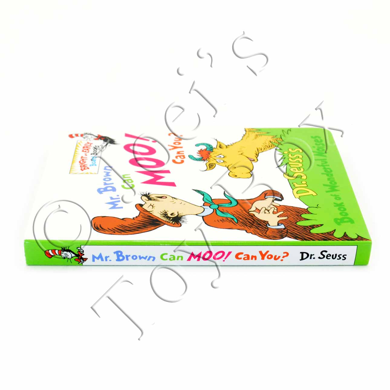 Mr Brown Can Moo Can You By Dr Seuss Board Book Joei