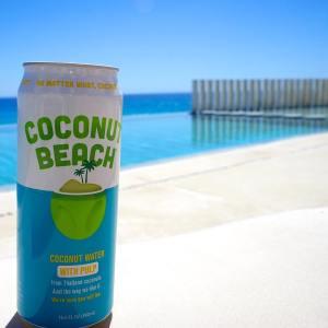 Coconut Water On the Beach Coconut Beach