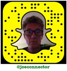 Joe Tesla Kennedy is @joeconnector on Snapchat