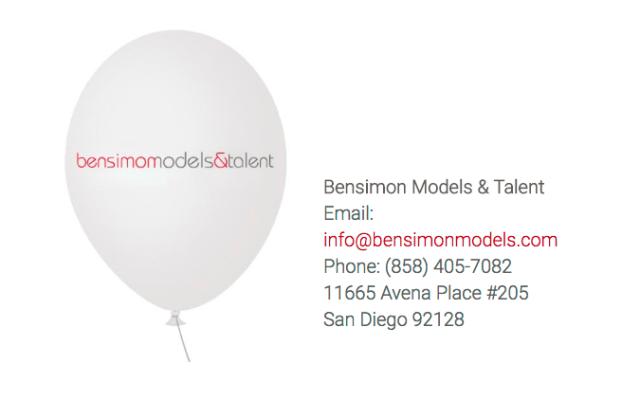 Besimon Models & Talent contact info