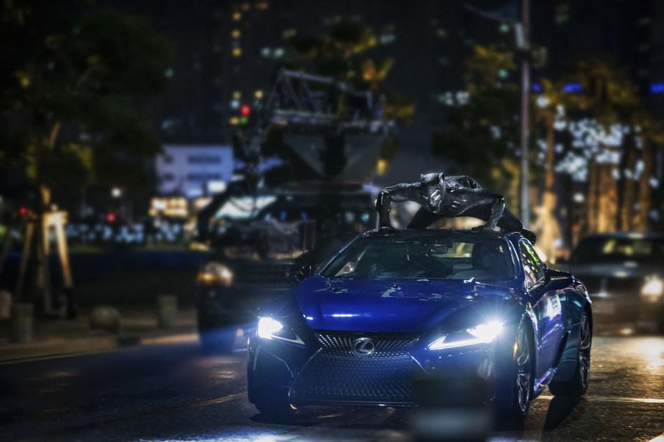 Lexus LC 500 Showcased in Marvel Studios' Black Panther