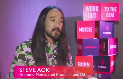 Show Off Your Steve Aoki HIIT Routine to Over 15 Million People
