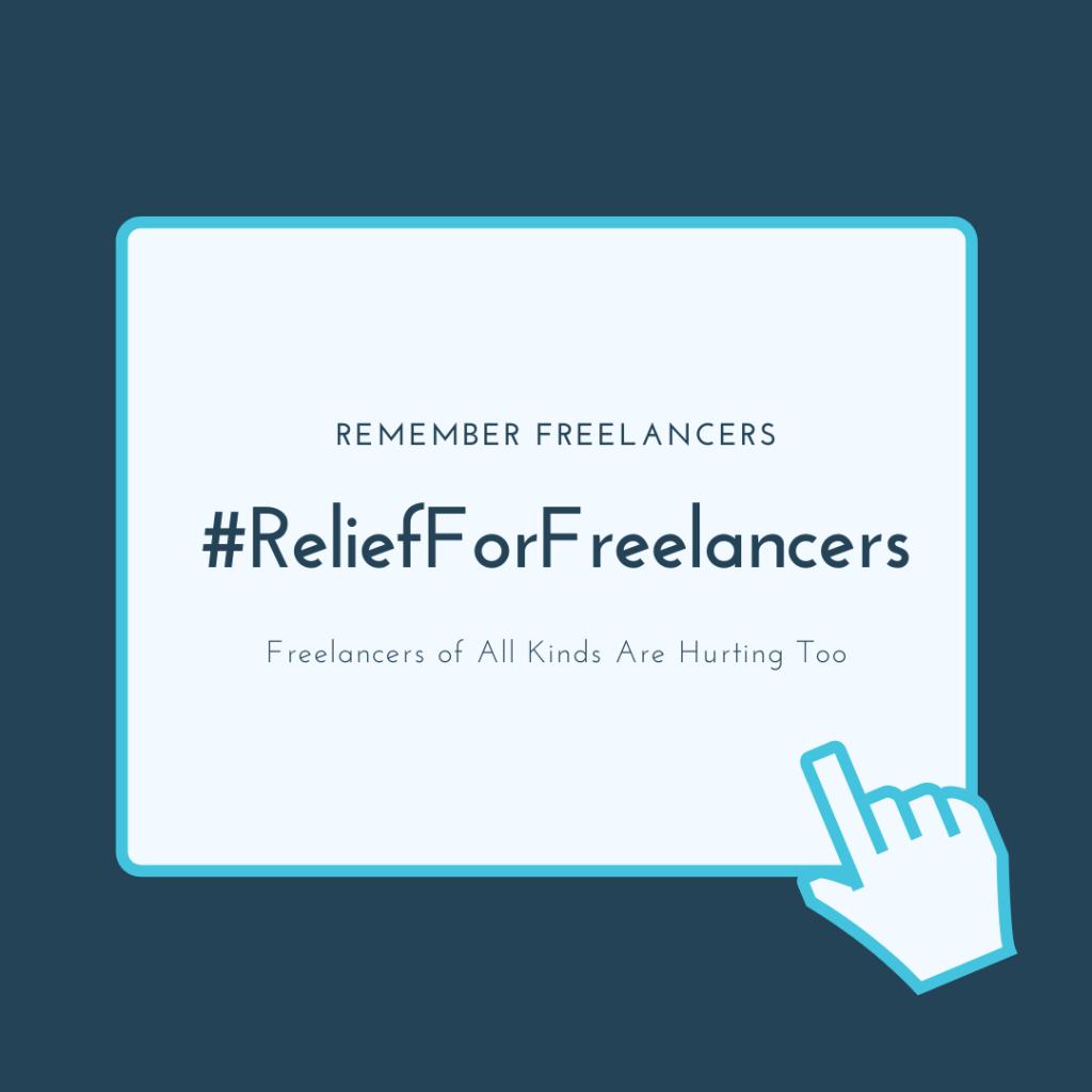 #ReliefForFreelancers