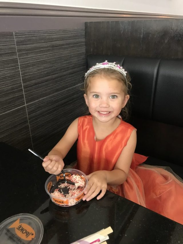 Ava Kalea loves poke and sushi!
