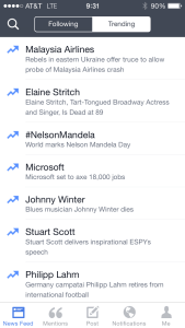 Facebook Mentions - Trending