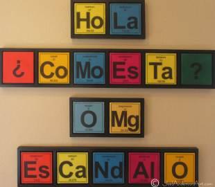 Periodic Conversation in Spanglish