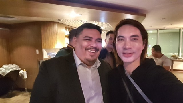 Selfie with Mr. Andrei Garlan, Piip's Business Development Director for Philippines.