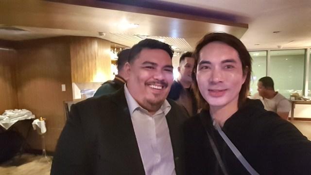 Selfie with Mr. Andrei Garlan, Piip's Business Development Director for Philippines.