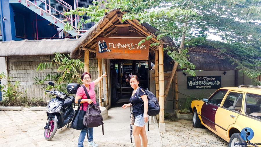 Flotsam & Jetsam Hostel Entrance, Urbiztondo, San Juan, La Union