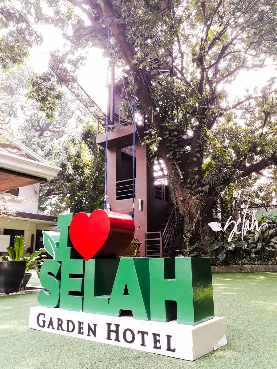 I love the Selah Garden Hotel