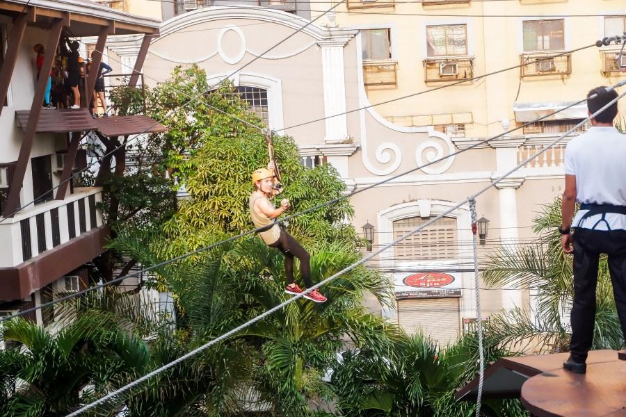 The Selah Garden Hotel Zipline