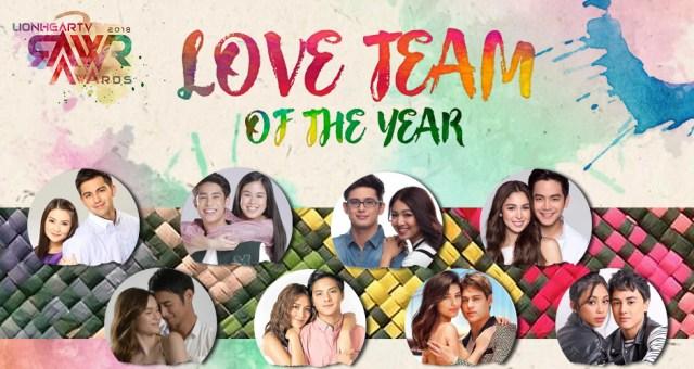 RAWR Awards Love Team of the Year Award
