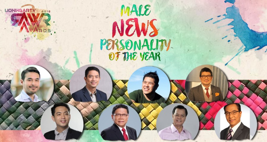 RAWR Awards Male News Personality of the Year Award