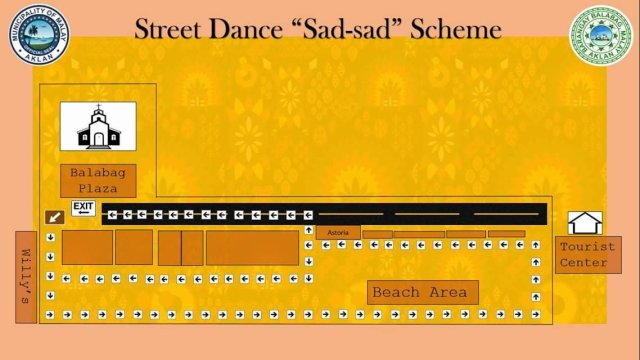 Boracay Ati-Atihan 2019 Street Dance Sadsad