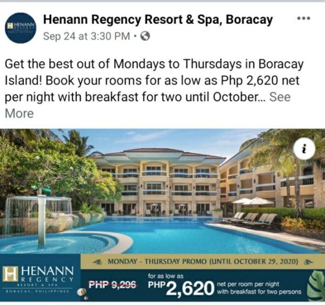 Removal of RT PCR Test requirement for tourists to enter Boracay sought