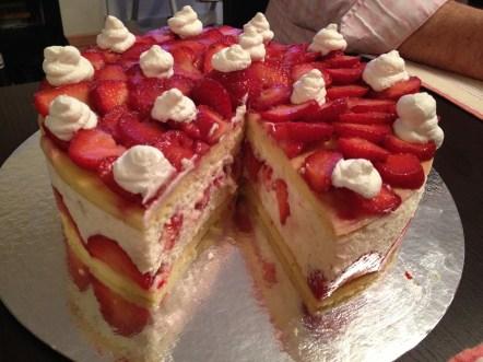 fraisier coupé
