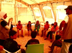 Hygiene, sanitation and art workshop