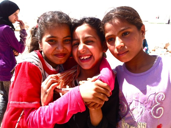 The children of Za'atari