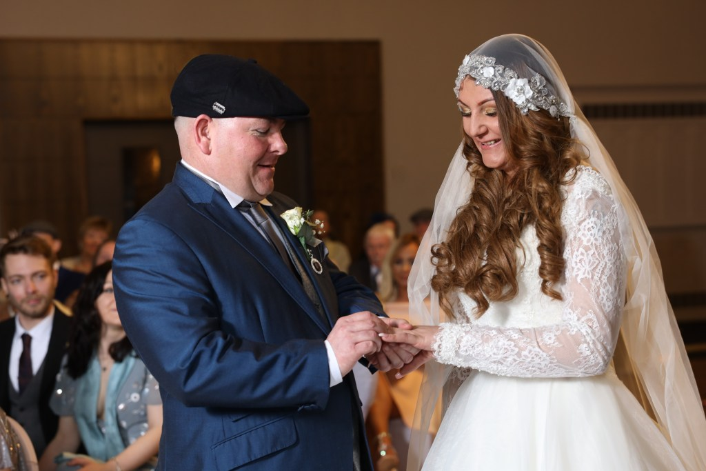 Putting a ring on it, peaky blinders theme wedding, Week in Joe Laws Photography