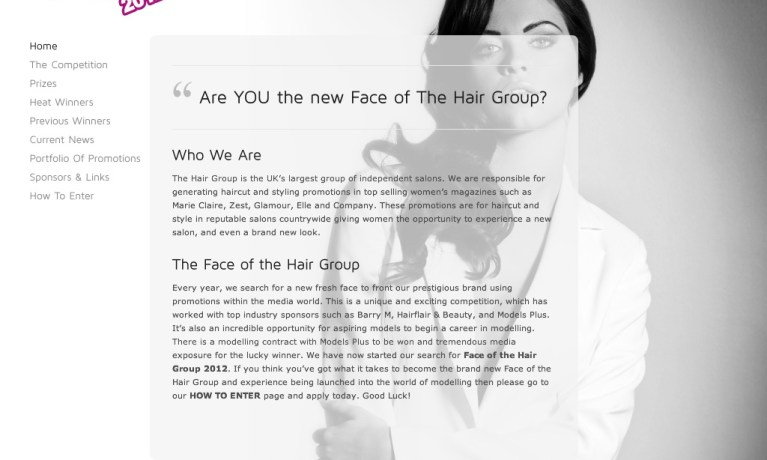 Face Of The Hair Group
